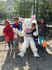 Last week, young residents at APAH properties celebrated the start of spring with outdoor egg hunts and a visit from the Easter Bunny!