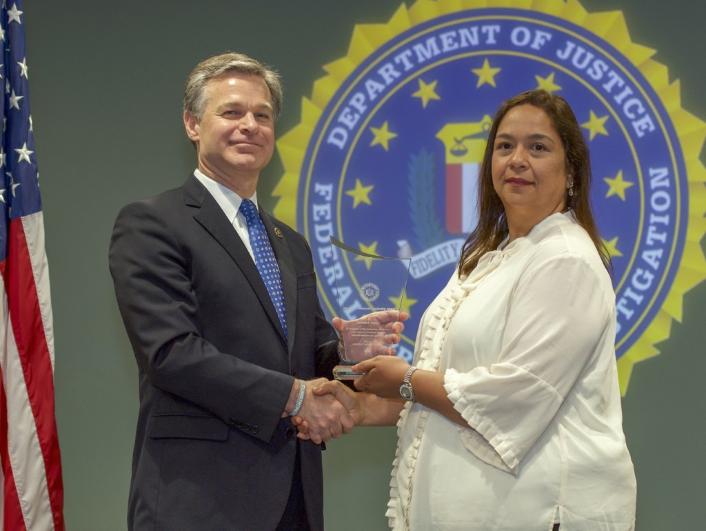 Nandred Accepting Award