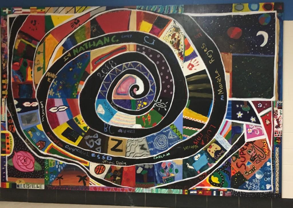 Story Tapestries Mural 1