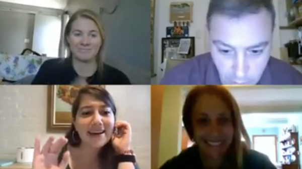 A recent Mikva Challenge DC's virtual teacher training