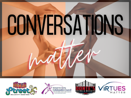 Conversations Matter graphic