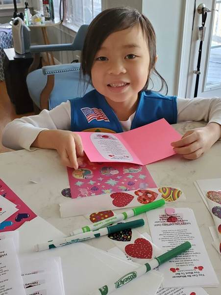 VolFairfax - Handmade valentines day cards 2